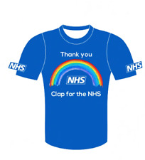 NHS Tshirt - Kids running tshirt, children tshirt in support of NHS