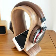 Headphone Stand Solid Wood Head-Mounted Innovative Compute Headset Holder