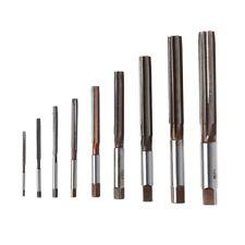 9PCS HSS H8 Straight Shank Milling Chucking Hand Reamer 3/4/5/6/8/10/12/14/16mm