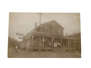 West Virginia RPPC Photo Postcard New River Consolidate Coal Co. Minden, WV