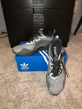 Adidas Alpha Bounce Black/Gray Running Shoes, Men's Size 9
