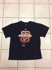 San Francisco Giants World Series 2012 Champions Majestic T Shirt Men's  XL