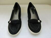 New Women's Roxy Margeaux Fabric Wedge Casual Dress Shoes Medium Width 52A pc