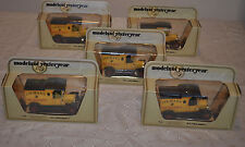 LOT 5 MODELS OF YESTERYEAR 1912 FORD MODEL T COLMAN'S MUSTARD Y-12 1978 NEW