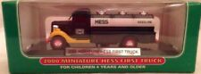 "2000 Miniature First Hess Truck  Mint in Mint Box ""Selling them at cost in 2000"""