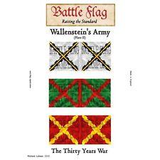 Battle Flag - Wallenstein Plate  II (Thirty Years War) - 28mm