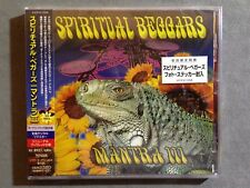SPIRITUAL BEGGARS - MANTRA III + 3 2000 JAPANESE REMASTERED PRESSING *SEALED*!!!