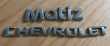 CHEVROLET MATIZ REAR BADGE LOGO EMBLEM LETTERS (A70)