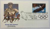 US Scott #2542 Olympics Express Mail $14 UNADDRESSED FDC Fleetwood / CV $27.50