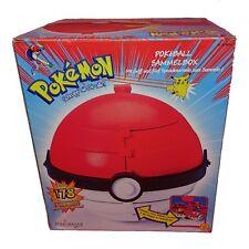Pokemon Pokeball XL Sammelbox mit Murmeln Collector Marbles OVP Sammlerstück