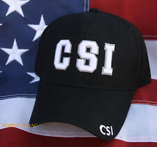 CSI Crime Scene Investigation POLICE PD HAT CAP WOWH PIN UP GIFT LAW ENFORCEMENT