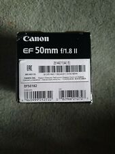 Canon EF 50 mm F/1.8 II for EOS - Boxed