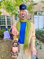 LIFESIZE Haunted Mansion Caretaker COMPLETE PROP Disneyland 50th D23 Gallery