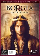 Borgia - Faith And Fear : Season 3 - FINAL SEASON (DVD, 5-Disc Set) DVD