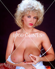 1980s NUDE 8X10 PHOTO BUSTY BIG NIPPLES PORN STARS UNKNOWN FROM ORIGINAL NEG1