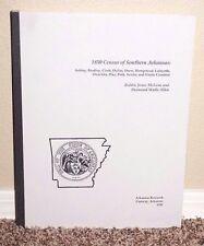1850 Census of Southern Arkansas 1995 Bobbie McLane & Allen Mormon Interest PB