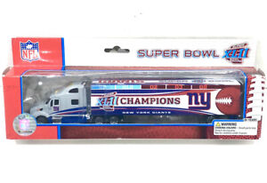New York NY Giants Super Bowl XLII CHAMPIONS 2008 NFL Peterbilt Tractor Trailer