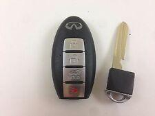 INFINITI QX56 08-10 SMART KEY LESS ENTRY WITH UNCUT INSERT REMOTE OEM USA CAR