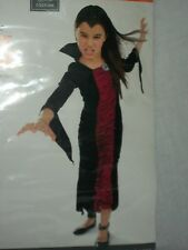 Vampire Victoria Black Costume Halloween Party Dress Youth Size Small S Child