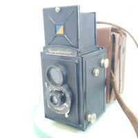 Voigtländer Brillant Tlr Box Camera, Anastigmat Voigtar 1:9 7,5 cm,from 1932#541