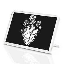 Heart Roses Classic Fridge Magnet - Love Tattoo Artist Teen Flowers Gift #14763