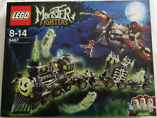 Lego Monster Fighters 9467 Train Ghost Train (Ghost Train) Nip New Sealed