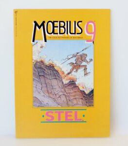 1994 Moebius 9 Stel The Collected Fantasies of Jean Giraud Graphic Novel Comic