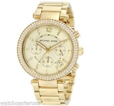 Michael Kors MK5354 Parker Stainless Steel Chronograph Womens Watch