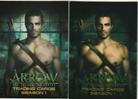 ARROW SEASON 1 PROMO CARD P1 & NSU EXCLUSIVE CRYPTONIUM PROMO CP1 CRYPTOZOIC