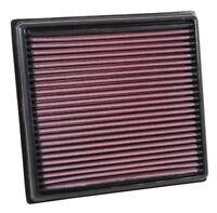 33-3040 K&N Air Filter fits VAUXHALL CORSA E 1.0/1.2/1.3/1.4/1.6 ALL 2014-