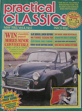 Practical Classics magazine May 1983 featuring MG, Ford Cortina