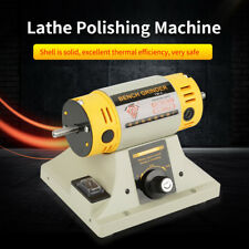 350W 220V Bench Electric Grinder Polishing Machine F/ Jewelry Dental Lathe Motor