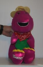1992 Playschool Talking Barney AS-IS Not Working