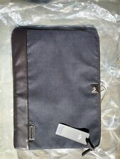 "NWT Brenthaven Collins Laptop Sleeve 17"" Indigo denim blue"