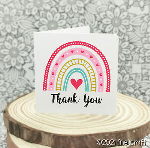 Custom Mini Thank You Cards | Thank You For Your Order Cards | 6 Designs!