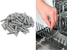 100capuchons pour panier de lave-vaisselle, coloris gris - Sichler Haushaltsge