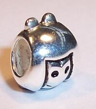 NEW 925 SOLID STERLING SILVER GIRL CHARM BRACELET BEAD - OMG LUSH BEADS