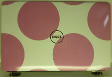Dell Inspiron 1545 LCD Back Cover Lid Large Pink Dots 721R8 *B* (JJ018)