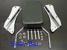 Sissy Bar Backrest Motorcycle Passenger Seat P for 06-07 Honda Shadow Spirit 750