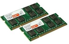 2 x memoria per PC portatili 1 GB 2 GB DDR 400 MHz memoria RAM così DIMM PC 3200 S