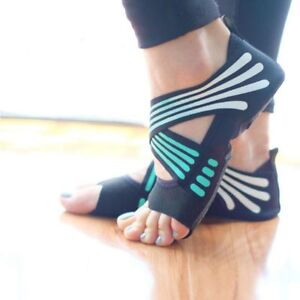 Ladies Dance Fitness Pilates Socks Non Slip Indoor Yoga Ballet Massage Exercise