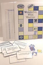 Wonderful, Wild Weather Science Game for Grades 2-3 Educational Activity NEW