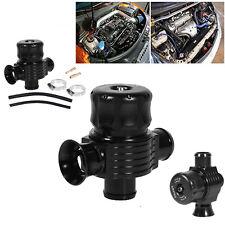 Adjustable 25mm Car Dual Ports Turbo Blow Off Valve Fake Dump BOV Black Kit New