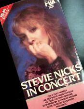 STEVIE NICKS In Concert VHS LIKE NEW