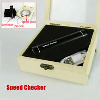 50Hz Stroboscopic Speed Strobe Light+Tachometer Disc for Turntable LP Records