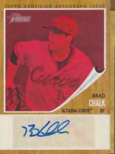 Brad Chalk 2011 Topps Heritage auto autograph card RA-BC /25