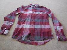 Mans Calvin Klein Jeans Brushed Cotton Check Shirt - Size Small (37.5)