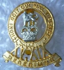 Badge- 15th/19th Royal Hussars Regiment Cap Badge QC (Bi-Metal) AMMO UK