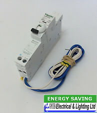 SCHNEIDER 20 AMP RCBO B TYPE PLUG IN SEE120B03