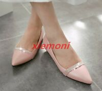 2019 Womens Shoes Ballet Flats Pumps Pointy Toe Casual Comfort Fashion All US sz